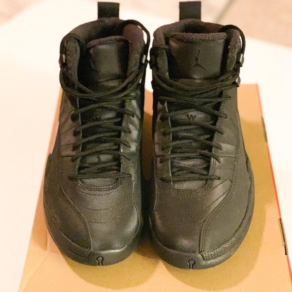 purchase cheap d53a5 6288b Nike Jordan retro 12- Winter black
